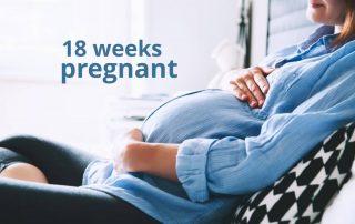 18 weeks pregnant