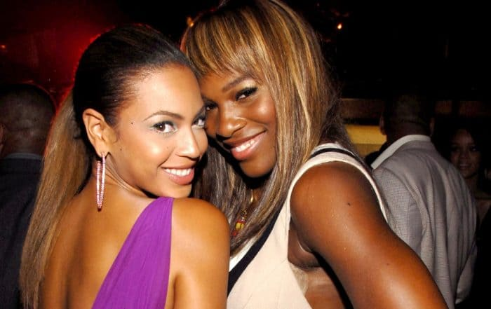 Beyonce Knowles and Serena Williams