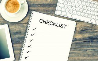 Pregnancy checklist